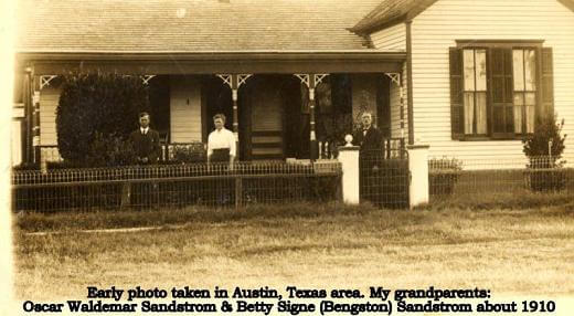 Travis County Swedish Settlers
