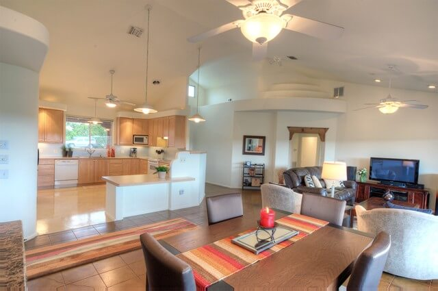 14805 Brown Bluff Circle, Leander Living to Kitchen B